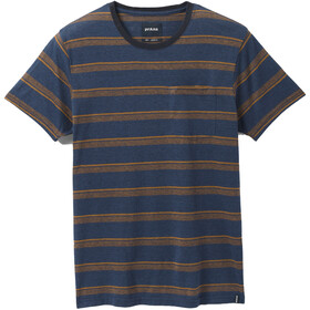 Prana Elias Short Sleeve Crew Men, nocturnal